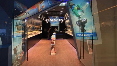 Создание flash-баннера для магазина Garmin в ТЦ Галерея