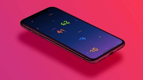 Разработка игры для смартфонов «Numbers»